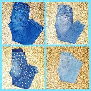Bundle of 3T girls Jeans